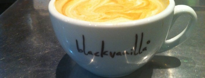 Black Vanilla is one of FIFTY BEST: Independent coffee shops.