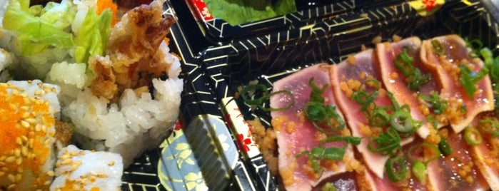 Hiro's Sushi Express is one of Miami Eater.
