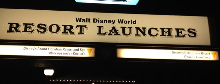 Walt Disney World Resort Boat Launch is one of Walt Disney World.
