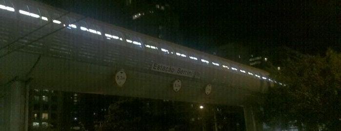 Estação Berrini (CPTM) is one of Meus Locais.