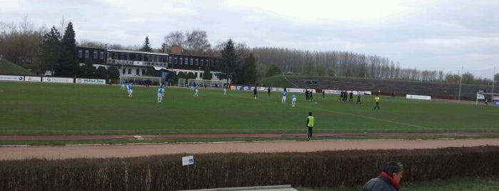 Tiszaligeti Sportcsarnok is one of Stadionok.