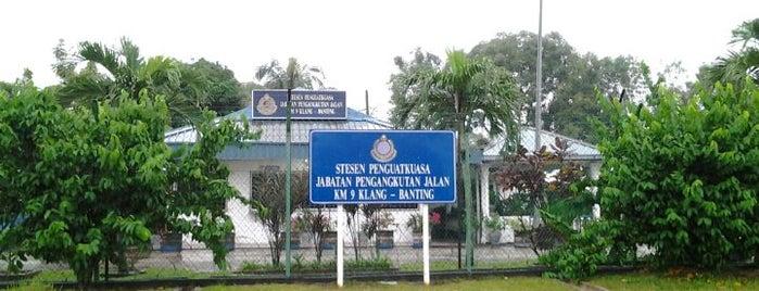 Stesyen Penguatkuasa JPJ(Jambatan Timbang) is one of Highway & Common Road.