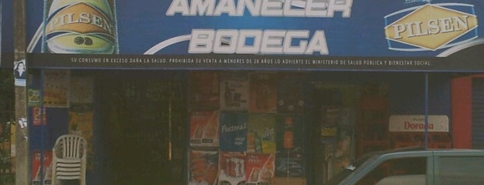"Bodega ""El Amanecer"" is one of yeii_roins."
