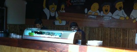 Katori Sushi is one of Restaurantes, Bares, Cafeterias y el Mundo Gourmet.