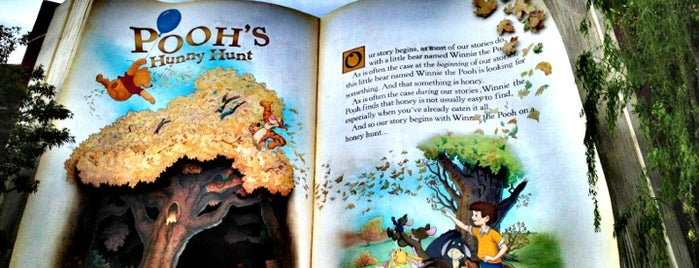 Pooh's Hunny Hunt is one of Disney.