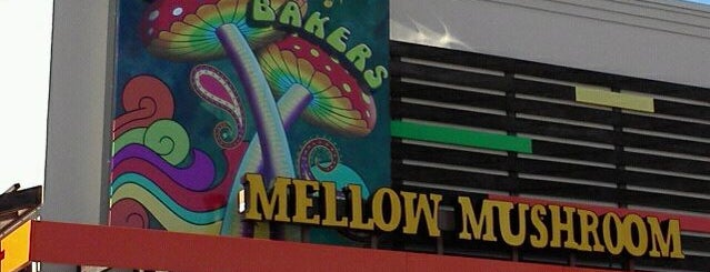 Mellow Mushroom is one of ELS/Johnson City.