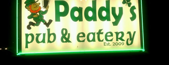 Paddy's Pub & Eatery is one of 2012 foodie tour.