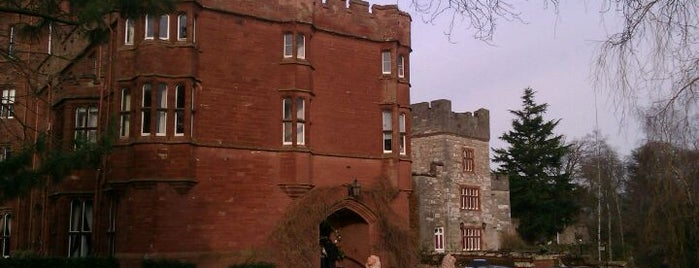 Ruthin Castle is one of Historic Castles of North Wales.