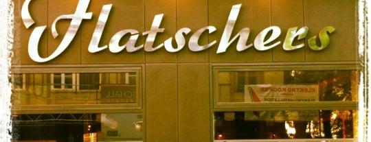 Flatschers Restaurant und Bar is one of StorefrontSticker #4sqCities: Vienna.