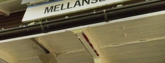 Mellansel Station is one of Tågstationer - Sverige.