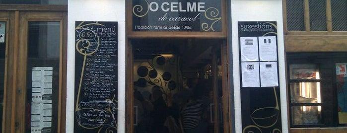 O Celme do Caracol is one of Comer en Santiago de Compostela.