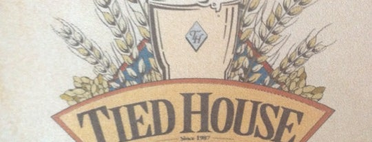 Tied House Brewery & Cafe is one of SF Bay Area Brewpubs/Taprooms.