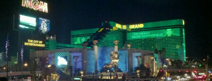 MGM Grand Hotel & Casino is one of Best Places to Check out in United States Pt 7.