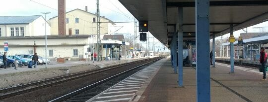 Bahnhof Gotha is one of visited stations.