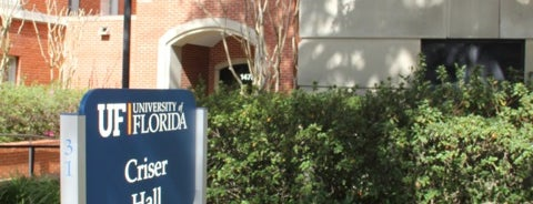 Criser Hall is one of University of Florida Explorer badge.