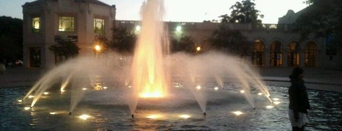 Balboa Park Fountain is one of San Diego.