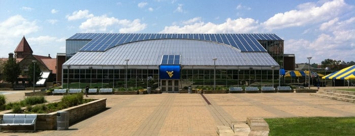 Mountainlair Plaza is one of Mountaineer Traditions.