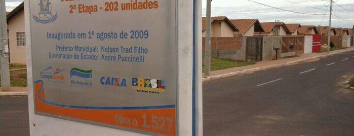 Maria Aparecida Pedrossian is one of Bairros de Campo Grande.