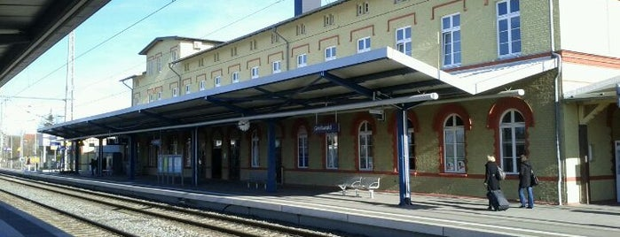 Bahnhof Greifswald is one of DB ICE-Bahnhöfe.