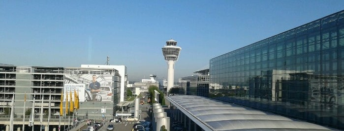 "Aeroporto de Munique ""Franz Josef Strauss"" (MUC) is one of Free WiFi Airports."