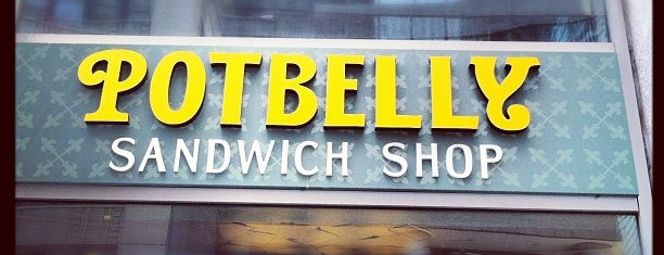 Potbelly Sandwich Shop is one of Earl of Sandwich Badge- New York Venues.