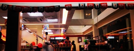7-Eleven is one of I want to eat, drink and be merry....