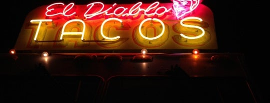 El Diablo Tacos is one of Ferias USA 2012.
