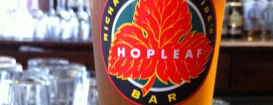 Hopleaf Bar is one of 100 Best Places in Chicago: TOC Staff Picks.