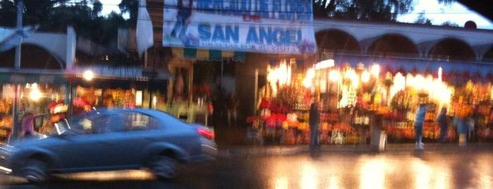 Mercado de Flores San Ángel is one of Algunos lugares....