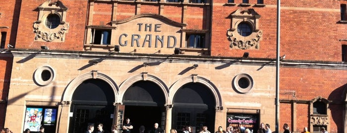 The Clapham Grand is one of Hand Drawn Map of London.