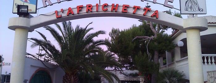 Ristorante L'Africhetta is one of 20 favorite restaurants.