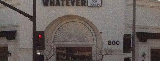 Whatever Tea Lounge is one of Tea Picks.