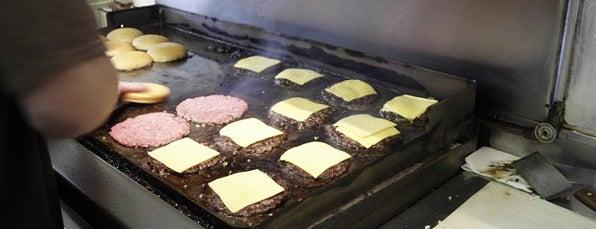 Bill's Jumbo Burgers is one of Man v Food Nation.