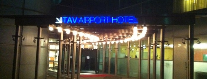 TAV Airport Hotel is one of İSTANBUL #2.