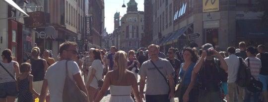 Strøget is one of Copenhagen.