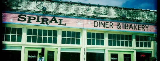 Spiral Diner & Bakery is one of Home in Dallas.