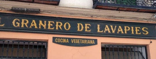 EL Granero de Lavapies is one of Un vegano por favor!!.