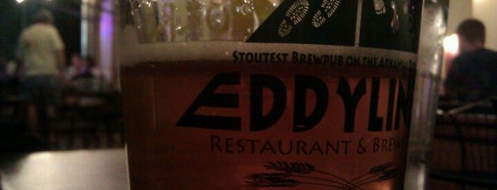 Eddyline Restaurant & Brewery is one of Colorado Beer Tour.