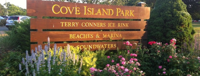 Cove Island Park is one of 4sq Cities! (USA).