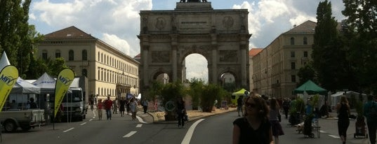 Siegestor is one of All the great places in Munich.