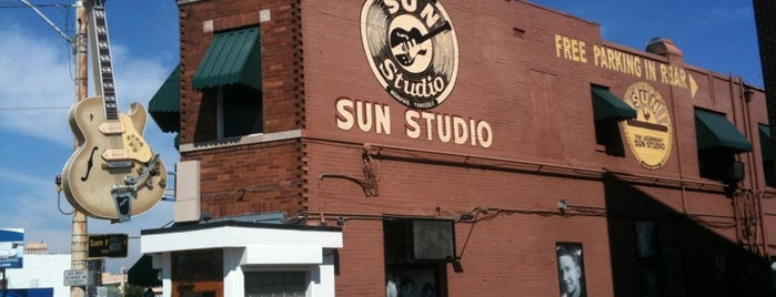 Sun Studio is one of Mind-blowing Memphis Music.