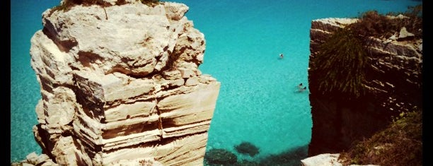 Cala Rossa is one of South Italy.