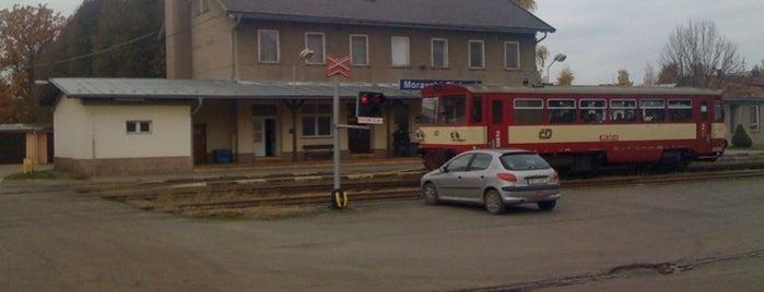 Železniční stanice Moravská Třebová is one of Železniční stanice ČR: M (7/14).