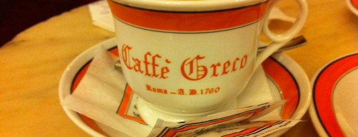 Antico Caffè Greco is one of Renan's Select: Rome.