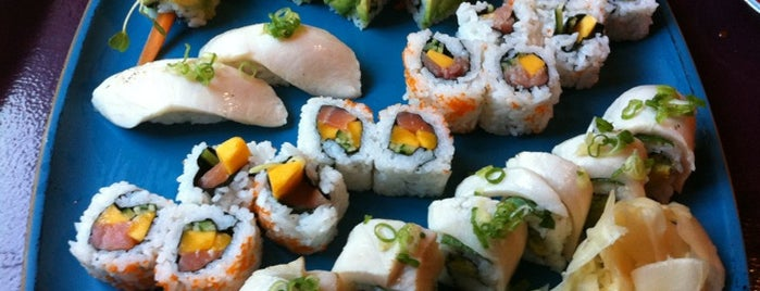 AMASIA Hide's Sushi bar is one of SF: To Eat.