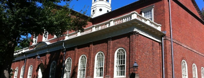Harvard Hall is one of life of learning.