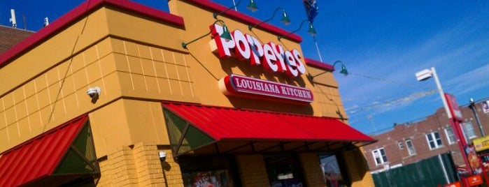 Popeyes Louisiana Kitchen is one of NYC - Brooklyn Places.