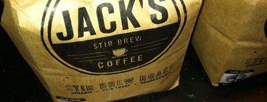 Jack's Stir Brew Coffee is one of 10 NYC Coffee Shops To Warm The Winter Days Ahead.