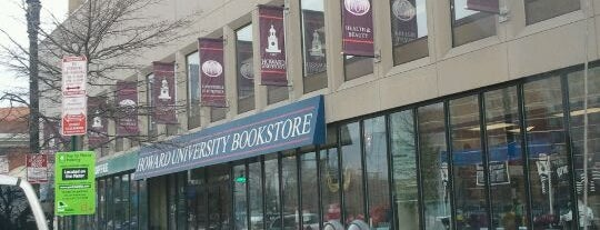 Howard University Bookstore is one of Places to Shop.