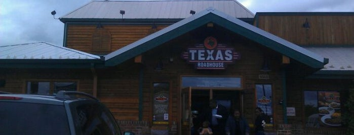 Texas Roadhouse is one of Sharron.
